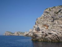skalné útesy - Kornati