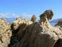 skalné huby - polostrov Lopar