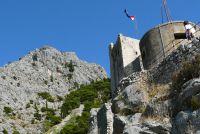 Omiš, pevnost Mirabella ze 13. století