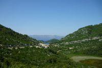 Ostrov Mljet - cestou do Sobry