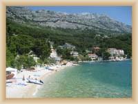 Brela - plaža Stomarica