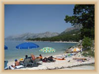 Brela - plaža